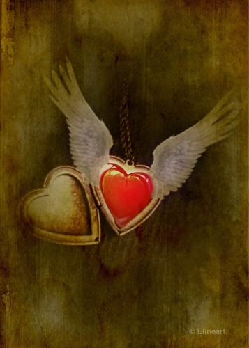 Winged Heart by elineart