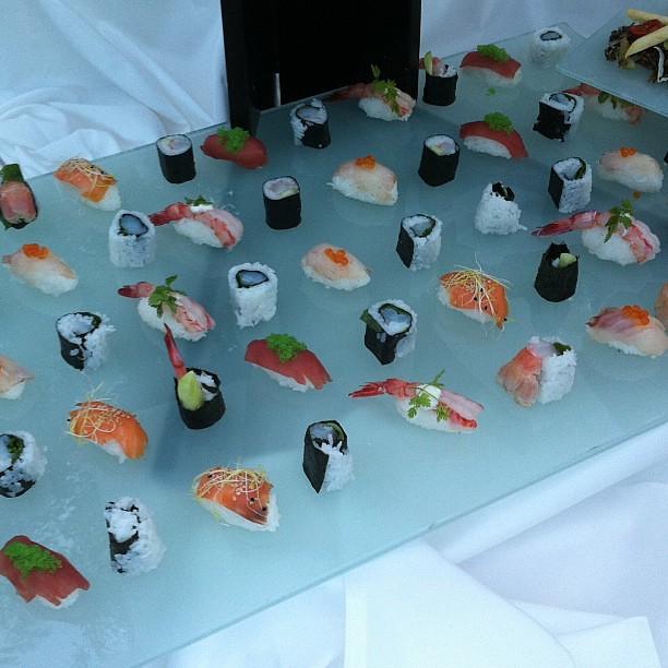 Matrimonio con sushi