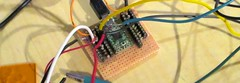 breadboard, circuit component, electrical wiring,
