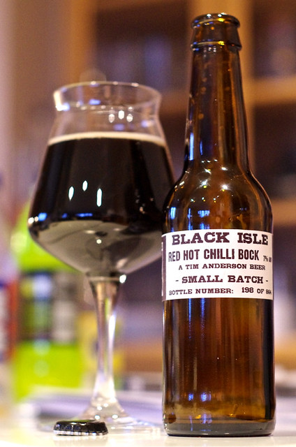 Black Isle Red Hot Chilli Bock