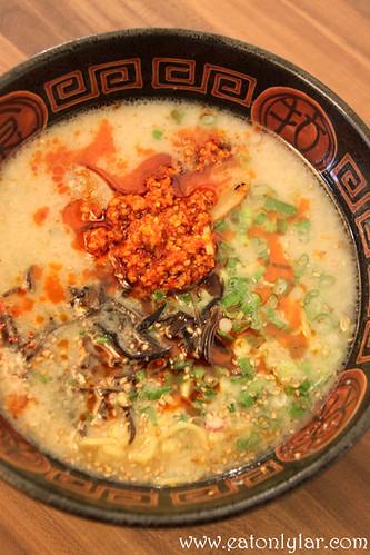 Hokkaido Tonkotsu Spicy Ramen, Hokkaido Gantetsu Ramen