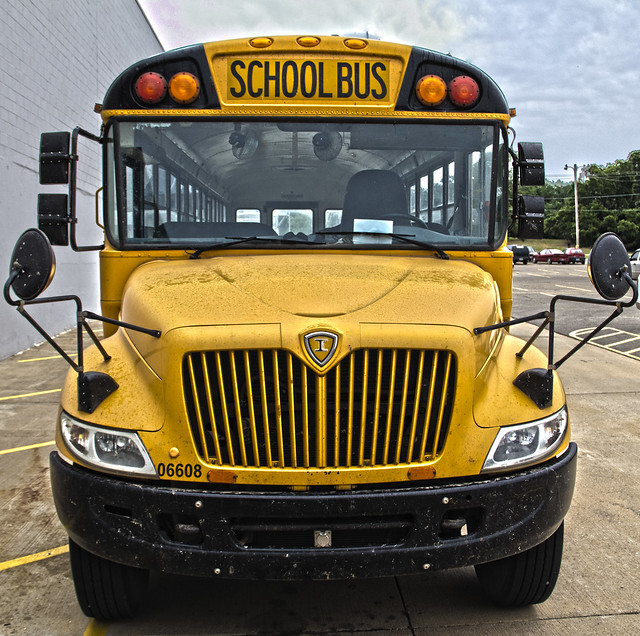 Front Of School Bus | Flickr - Photo Sharing!