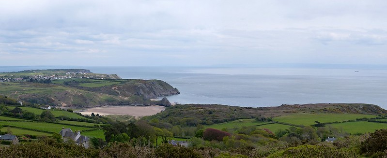 27248 - Three Cliffs from Cefn Bryn
