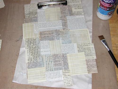 Paint Chip Clipboard 009