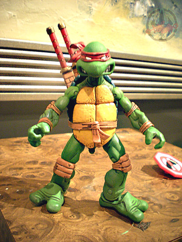 "NECA TEENAGE MUTANT NINJA TURTLES :: ""LEONARDO""  Tube Pack ix  (( 2008 ))"