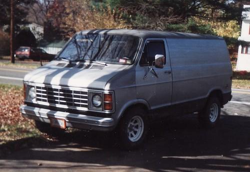 MY 1979 DODGE VAN IN OCT 1991