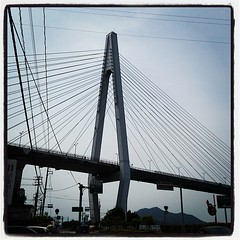 ふたつ目の橋…おなかへったー