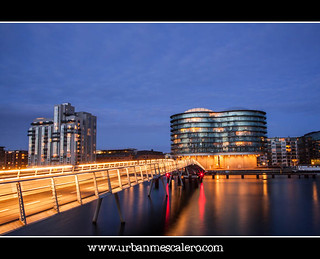 Copenhagen [Denmark] - The Quay Bridge and Gemini Residence