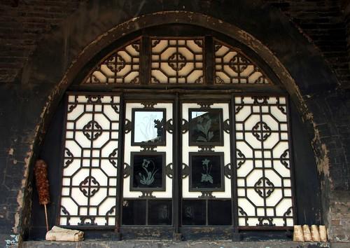 china door decorations heritage unesco ornaments porte shanxi tür pingyao chine ciselures bankershouse