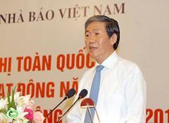 Ông Đinh Thế Huynh tham dự hội nghị báo chí toàn quốc tổng kết công tác năm 2011, triển khai nhiệm vụ năm 2012