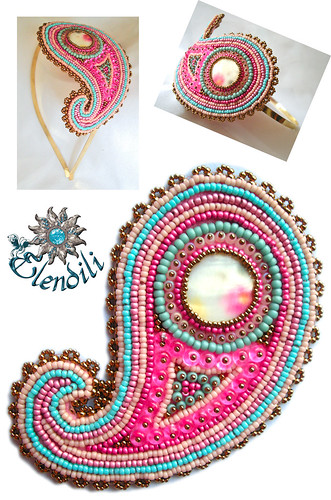 Diadema de embroidery by **Elendili**