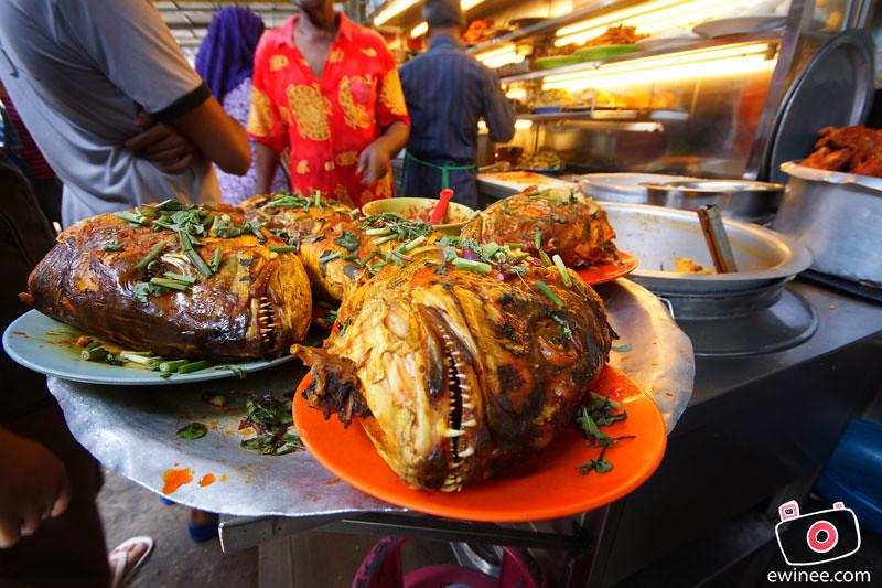 NASI-KANDAR-LINE-CLEAR-JALAN-PENANG-fish-head