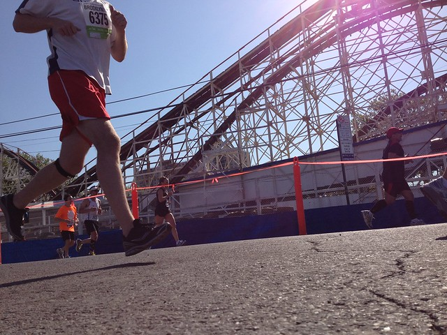 Brooklyn Half Marathon at Coney Island