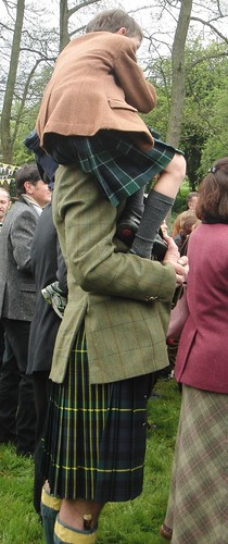Kilted guests
