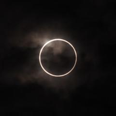 Annular Solar Eclipse in Tokyo, Japan