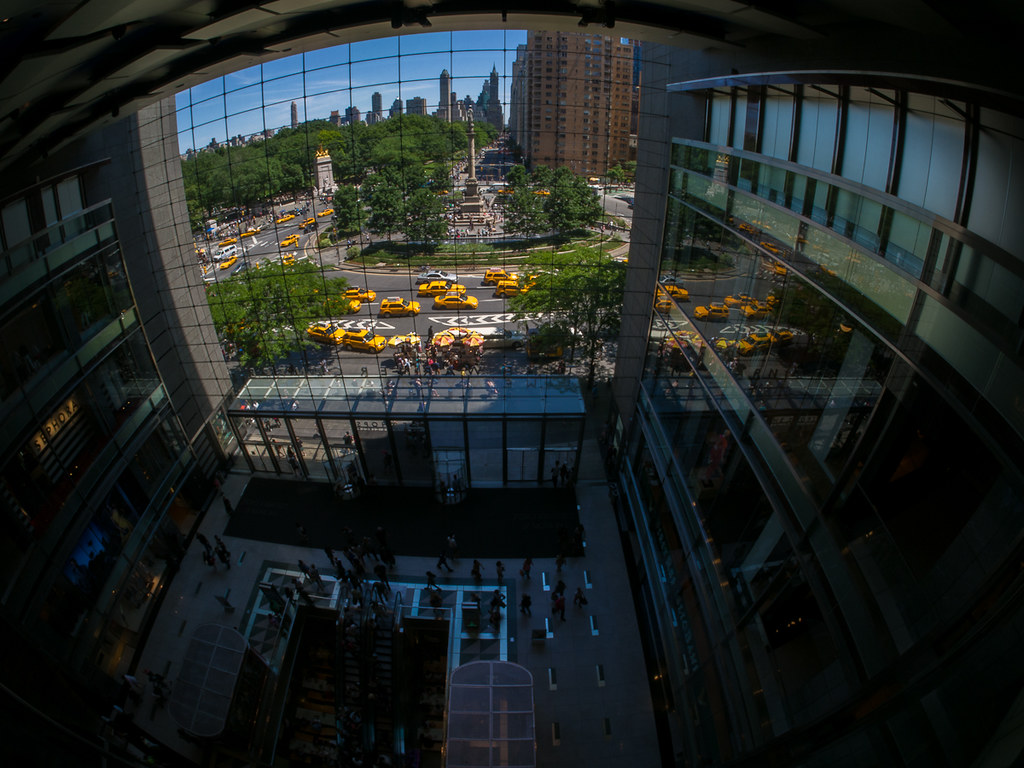 Time Warner Center NYC with Rokinon 7.5 Fisheye
