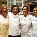 Michelle Bonilla, Chef Peter Garica, Kendall Moister and Alyssa Dole