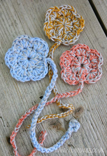 Crochet Bookmarks : Crochet Flower Bookmark Flickr - Photo Sharing!