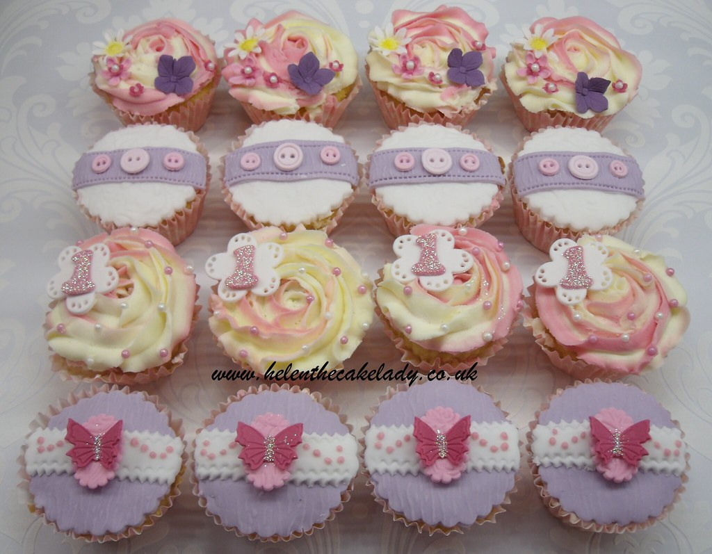 Images Of Butterfly Cupcake Cakes