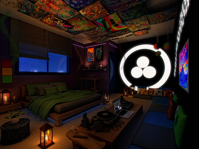 Psychedelic Bedroom Ideas