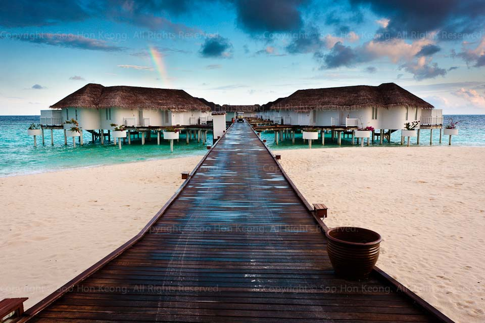 Morning Light @ Centara Grand Island Resort & Spa Maldives