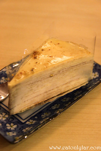 Vanilla Mille Crêpe, Ochado