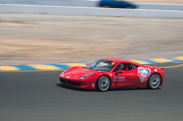 Sonoma Ferrari event