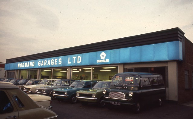 Chrysler Rootes Dealerships Amp Plants Uk Slides Scans