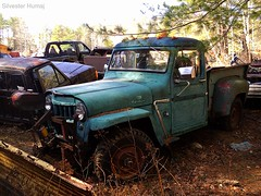 Willys 4 Wheel Drive Truck