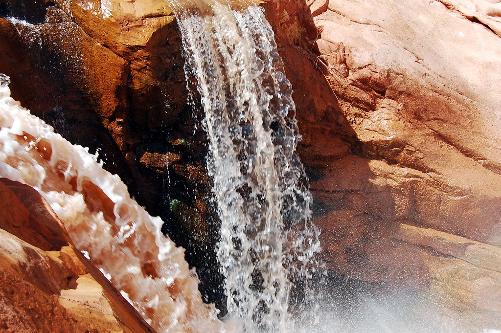 Capitol Reef Waterfall 2