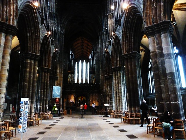 Inside Glasgow's 13th century Cathedral