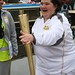 Jo carries the Olympic torch
