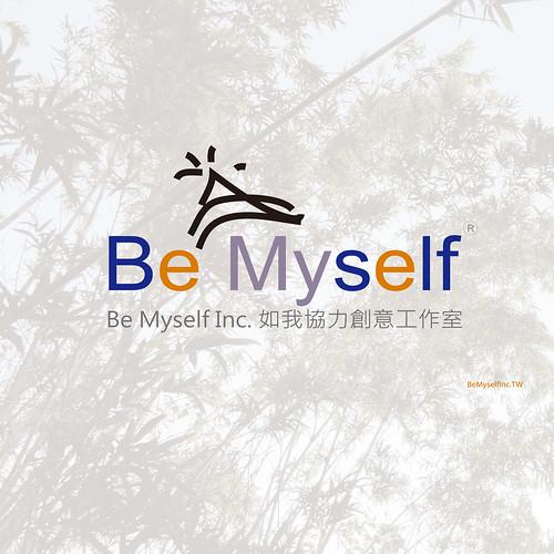 Be Myself Inc.如我協力創意工作室  公司壓克力背貼設計稿GOGOB