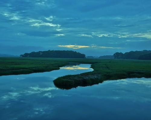 Essex MA Salt Marsh 4:27AM 5/30/12 by captjoe06