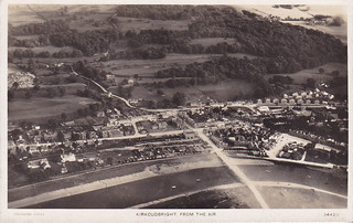 """Kirkcudbright from the Air"""