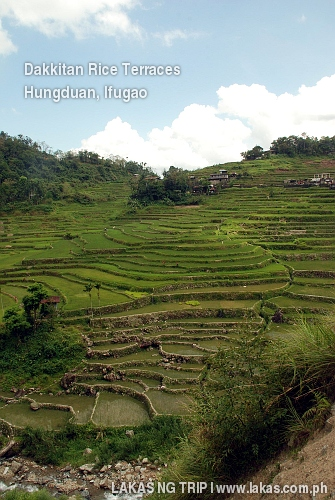 Dakkitan Rice Terraces in Hungduan, Ifugao