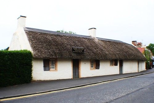 Birthplace of Robert Burns, Alloway, Scotland