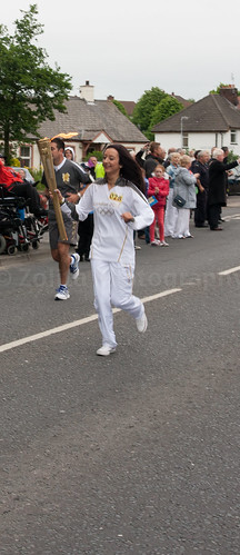 Olympic Torch Comes To Comber by xxx zos xxx & bump