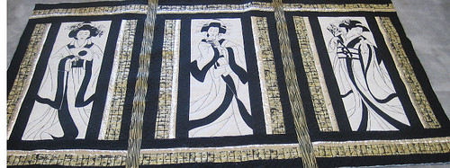 Debra's Geisha Panel Quilt