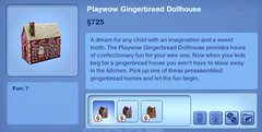 Playwow Gingerbread Dollhouse