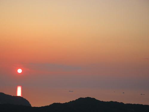 sunset sea japan 日本 naruto tokushima 夕日 海 徳島 鳴門