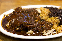 pollo en mole poblano @ downtown bakery