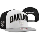Oakland Raiders Snapback Hats New Era 9FIFTY 2012 Caps 2 Tone Draft