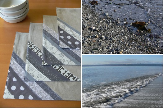 Inspired by Nature: Beach + Placemats