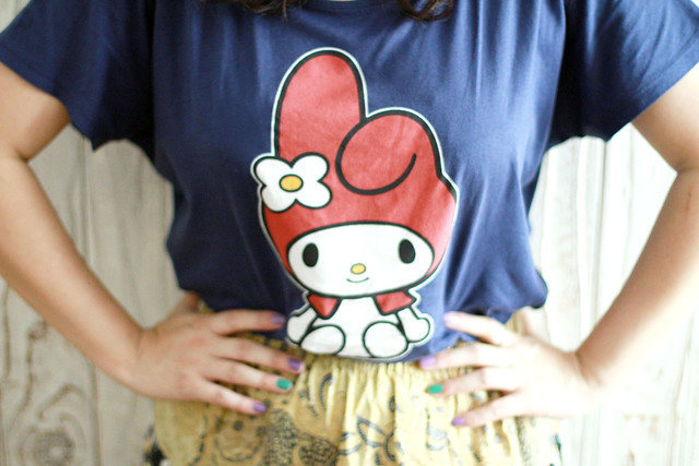 My Melody x Uniqlo Tee & Batik