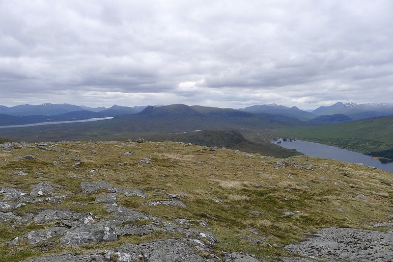 Panoramic views from the Black Mount of Ben Nevis