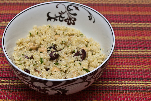 Quinoa salad (Project 365: 86/365)