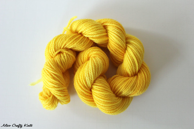 Dye Workshop - Yellow with Fuschia undertones