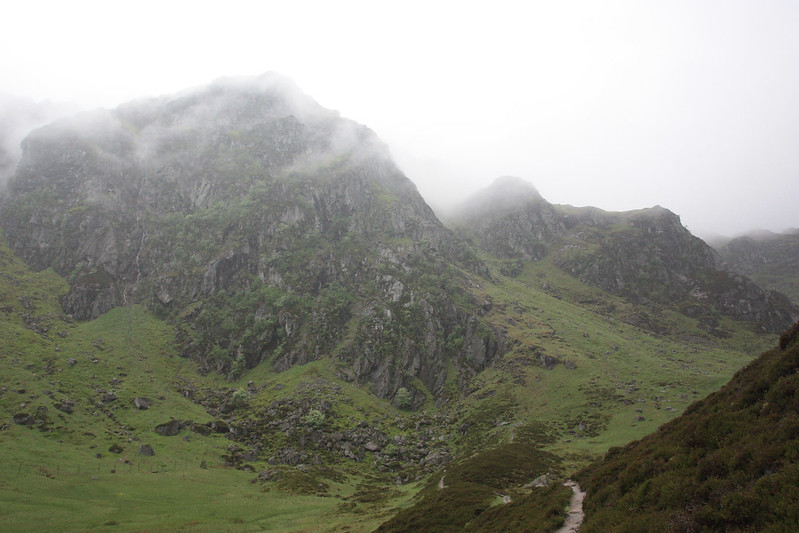 Crags in Corrie Fee