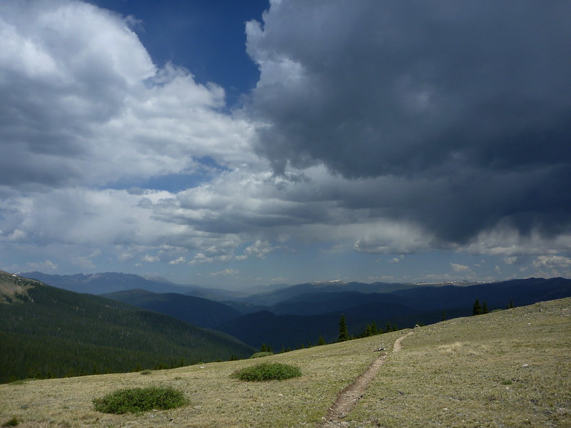 Looking towards Breck from Georgia Pass